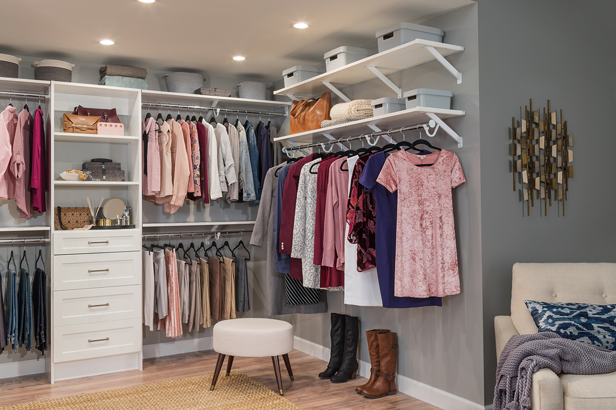 Closetmaid Conducts Survey On The Impact Of Upgraded Closets On