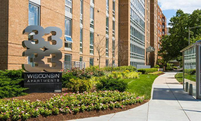 A Venture Led By Urban Investment Partners Uip Of Washington Dc Has Acquired 3333 Wisconsin Avenue Nw 100 Unit Apartment Building In The Prestigious